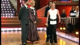 Ольга Бузова танцует фуэте в Танцы со звёздами 01.12.12.