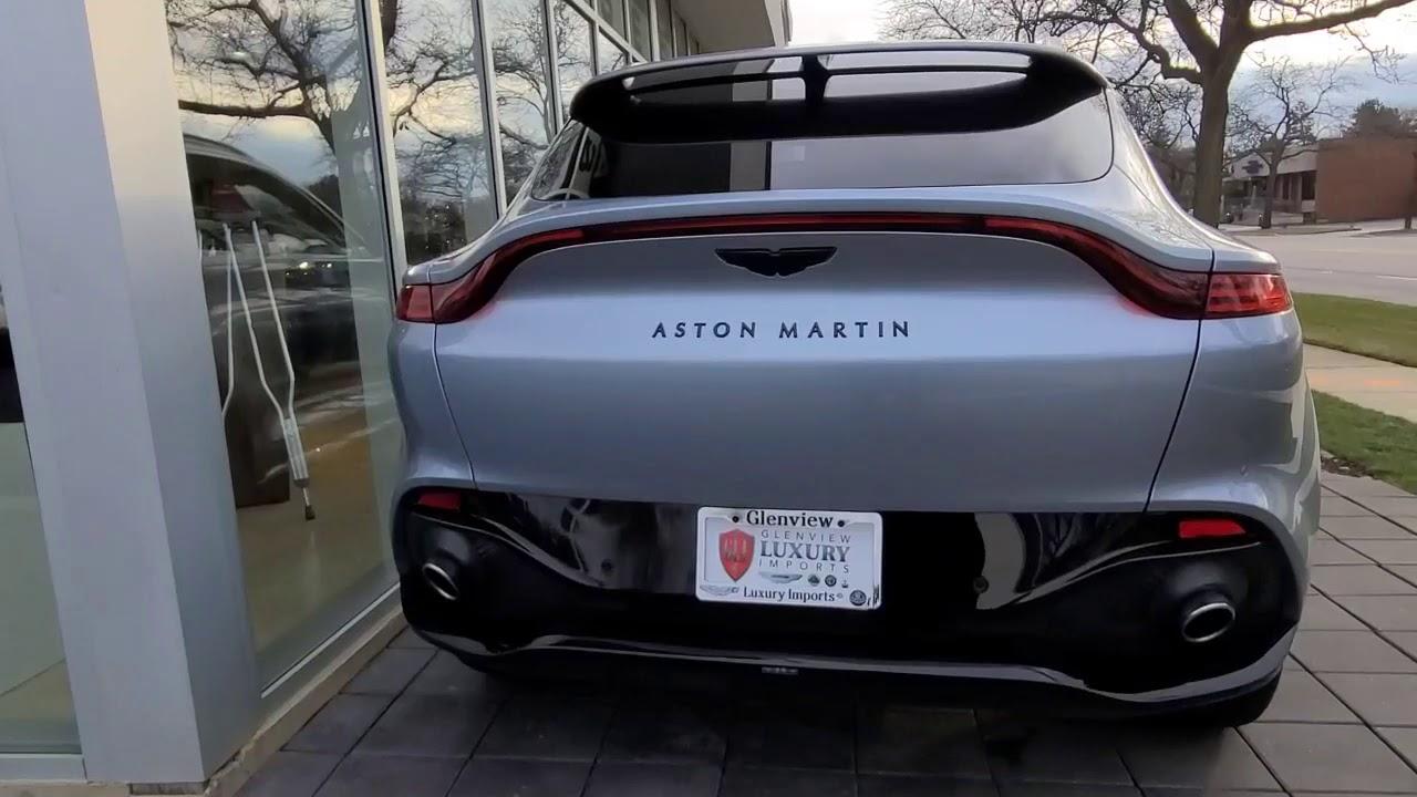 2021 Skyfall Silver Aston Martin Dbx Youtube