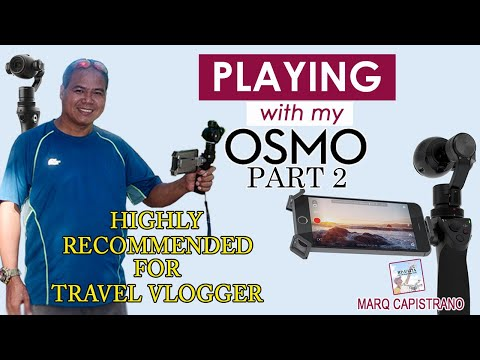 Playing With My DJI Osmo: Part 2 (Food Trip)