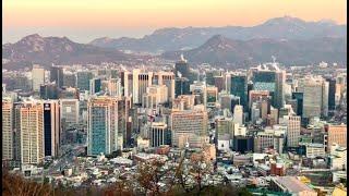 [LIVE] Sunrise Morning Walk on N Seoul Tower Korea (Nov 30, 2020) 월요일 아침 서울 남산타워 라이브 걷기