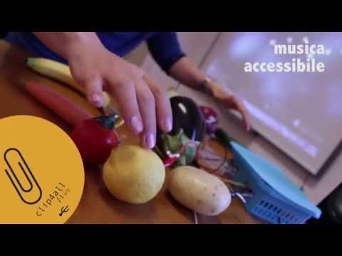 Click4All - Musica con la frutta e Libro Tattile sonoro