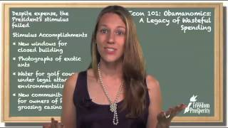 Obamanomics: A Legacy of Wasteful Spending