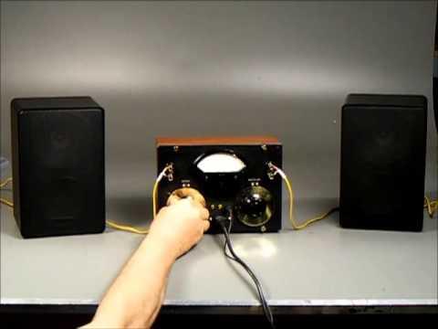 GENERAL RADIO CUSTOM STEREO AMPLIFIER G V1