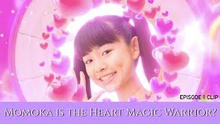 MagiMajo Pures Episode 1 Clip | Momoka is the Heart Magic Warrior?