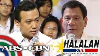 DZMM TeleRadyo: Trillanes on Duterte's victory,
