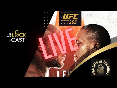UFC 265: Lewis vs Gane LIVE Predictions & Betting Tips   The MMA Lock-Cast LIVE