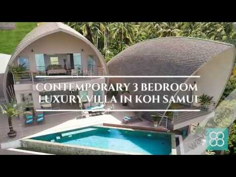 Luxury 3 Bedroom Sea View Villa In Koh Samui Conrad Properties