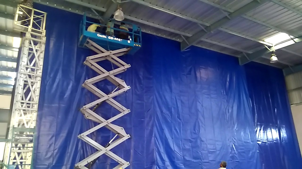 Industrial Curtains, Warehouse Curtains, Warehouse Partition Soft Wall  Project In India