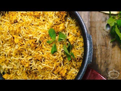 Paneer Biryani Recipe - Restaurant Style | Indian Main Course Recipes