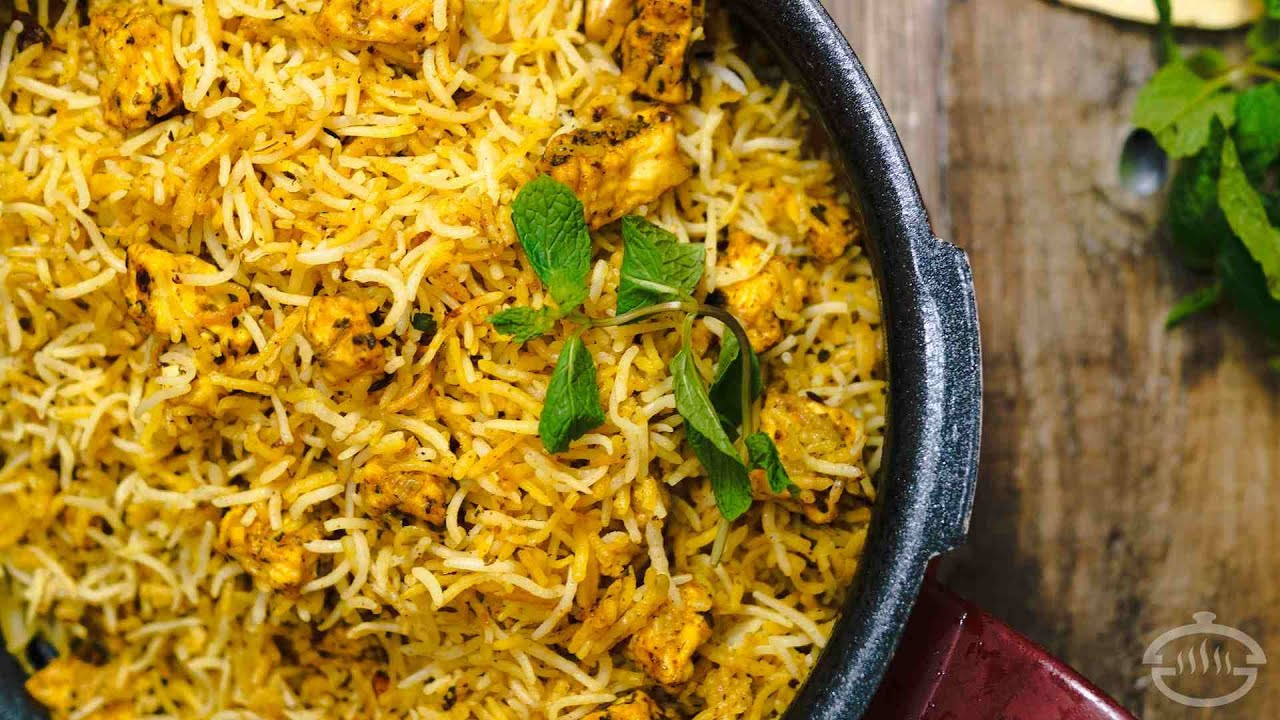 Paneer biryani recipe restaurant style indian main course paneer biryani recipe restaurant style indian main course recipes youtube forumfinder Images