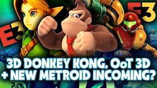 Rumor: 3D Donkey Kong Game, Ocarina of Time & Majora's Mask Remake, New Metroid Game | E3 2021