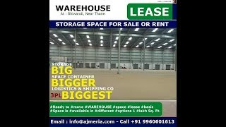 Pre Rented Commercial #Warehouse for sale out property in Bhiwandi