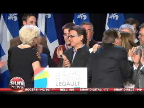 Post-election Quebec