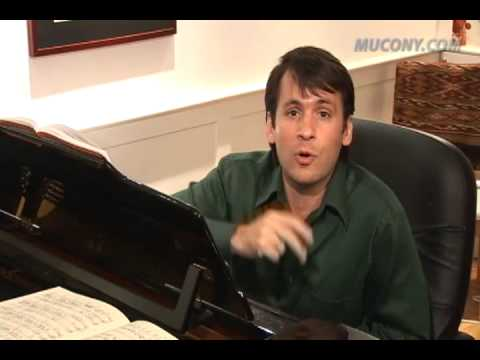 Manhattan School of Music faculty Mark Oswald's Voice Lesson
