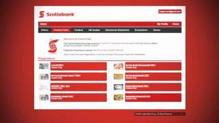 Scotiabank Online Learning Overview