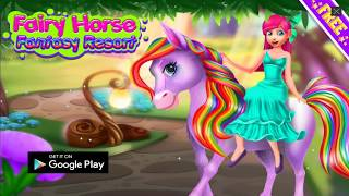 Tooth Fairy Horse - Caring Pony Beauty Adventure - Game for Girls screenshot 1