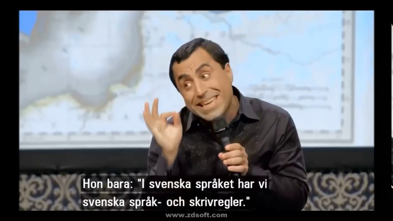 DEN ROLIGASTE VIDEON DU NÅGONSIN KOMMER SE! Özz Nujen om det svenska språket och uttryck!