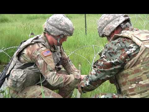 Vermont Army Guard Combat Engineers Explosives Training