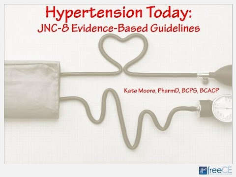 Hypertension Today: JNC-8 Evidence-Based Guidelines
