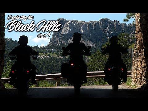 Exploring the Black Hills Part 1 / Triumph Scrambler 1200 XE / MotoGeo Adventures
