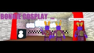 BONNIE THE BUNNY Cosplay ROBLOX Ft.Emmamcs - AlexiaLovesCats