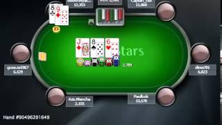Раздача дня школы PokerStarter: Оппонентозависимый розыгрыш