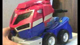 (FRENCH) Review Optimus Prime Supreme Animated Partie 1