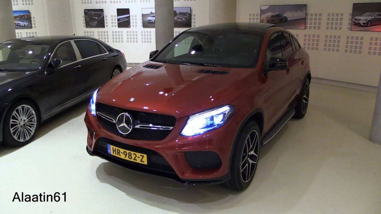 2017 mercedes benz gle class gle 450 amg coupe start up for Mercedes benz gle 450