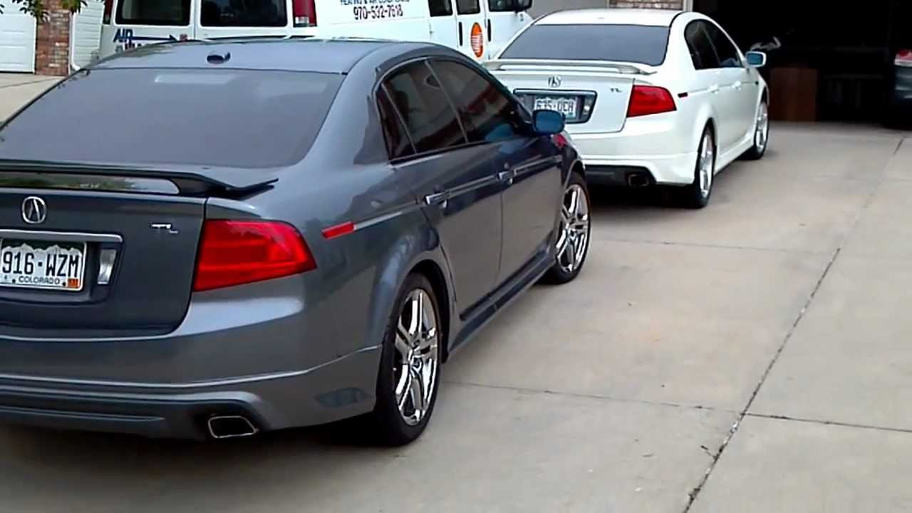 2004 2005 acura tl walk around a spec add ons youtube
