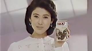 UCC コーヒーチェリー CM  1985年 沢田亜矢子