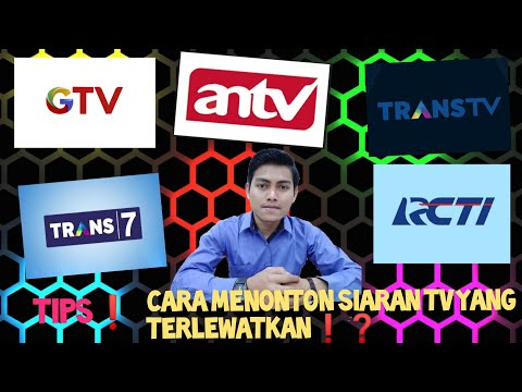 CARA NONTON ACARA TV YANG TERLEWAT...!!! 100% Work from YouTube · Duration:  3 minutes 38 seconds
