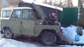 Уаз 469  Убили мотор  Час сорок без воды  Совдеп рулит