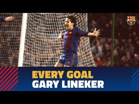 BARÇA GOALS | Gary Lineker (1986-1989)