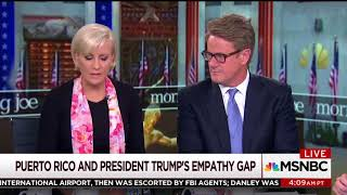Scarborough: Trump treating Puerto Rican residents like 'peasants' with paper towel throwing