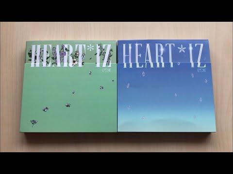 ♡Unboxing IZ*ONE 아이즈원 2nd Mini Album HEART*IZ (Violeta & Sapphire Ver.)♡