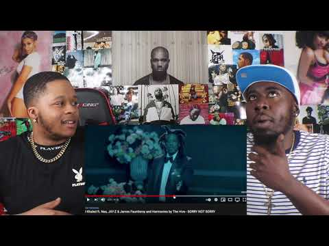 DJ Khaled ft. Nas, JAY-Z & James Fauntleroy and Harmonies by The Hive – SORRY NOT SORRY REACTION!!