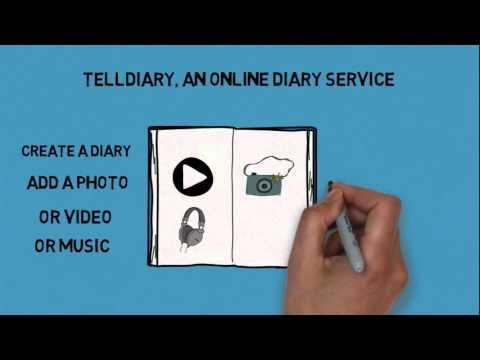 Telldiary - Online Diary Writing