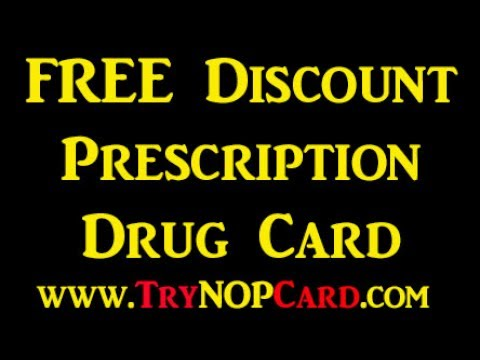 Discount Prescription Drug Card - FREE TryNopCard.com