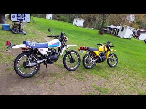 Kawasaki KE100 compare to KM100