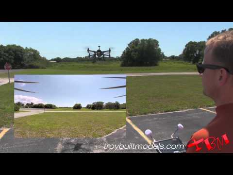 3DR X8 PLUS Overview and Flight GoPro Pixhawk