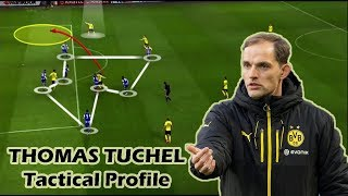 Thomas tuchel has recently been linked with chelsea, arsenal and psg. in this video, i've tried to explain some of the main attributes his tactical philos...