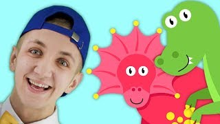 Colors Song for Kids with Dinosaurs | Simple Nursery Rhymes. Sing Along With Tiki.