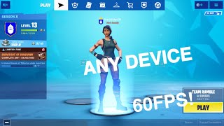 How To Get 60 FPS On ANY Fortnite Mobile Device (NO JAILBREAK/ NO PC)!
