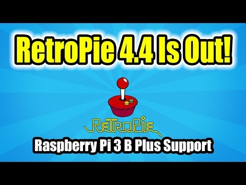 RetroPie 4.4 Is Out With Raspberry Pi 3 B+ Support