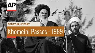 Ayatollah Khomeini Passes - 1989 | Today In History | 3 June 17