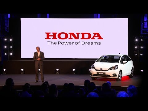 2020 Honda Jazz Explained at Electric Vision Event