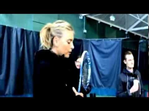 Maria Sharapova Sochi Olympic shoot - behind the scenes