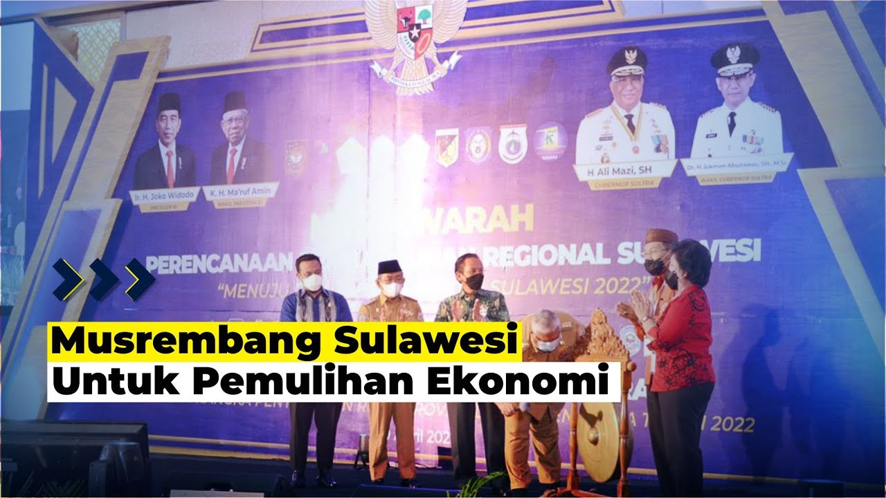 Ali Mazi Buka Musrembang Regional Sulawesi 2021