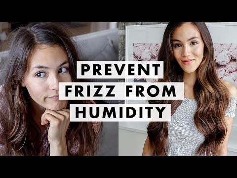 How To Prevent Frizzy Hair From Humidity