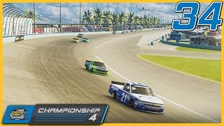 AN ECONOMY RUN FOR THE CHAMPIONSHIP | NASCAR Heat 3 Truck Series Finale